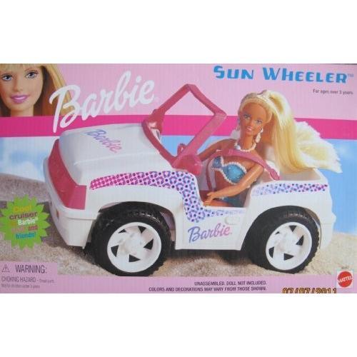 バービー Barbie サン WHEELER Vehicle クール JEEP スタイル クルーザー Car (2001)海外取寄せ品