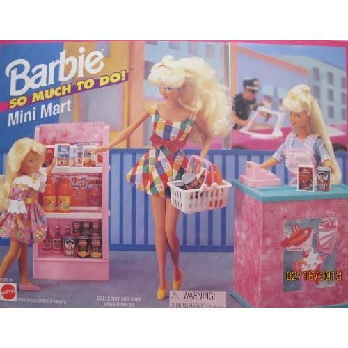 バービー Barbie So Much To Do! ミニ MART プレイセット w チェック アウト カウンター, CASH レジス海外取寄せ品