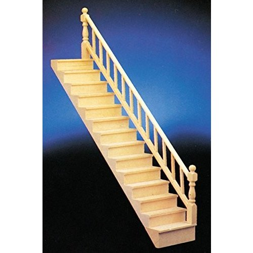 Dollhouse ミニチュア Straight Staircase キット海外取寄せ品