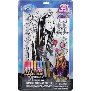 ハンナモンタナ Hannah Montana 3D DELUXE POSTER海外取寄せ品
