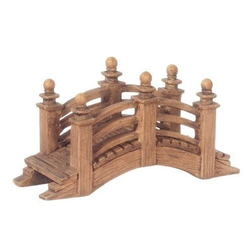 Dollhouse スモール Arched Fieldstone ブリッジ ミニチュア ガーデン Structure 1:24 Scal海外取寄せ品