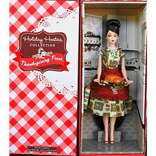 ホリデー Hostess Thanksgiving Feast バービー Barbie海外取寄せ品