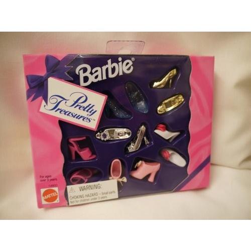 バービー Barbie プリティ トレジャー シューズ 1995海外取寄せ品
