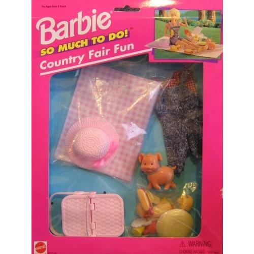 バービー Barbie So Much To Do カントリー Fair ファン セット (1995 Arcotoys, Mattel)海外取寄せ品