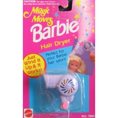バービー Barbie マジック ムーブ ヘアー DRYER - ウインド It & It Works! (1992 Arcotoys,海外取寄せ品