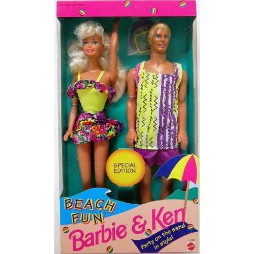 ビーチ ファン Barbie&Ken 2 ドール ギフトセット Special Edition海外取寄せ品