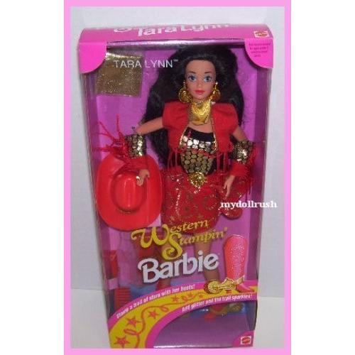 1993 ウエスタン Stampin' タラ Lynn バービー Barbie ドール海外取寄せ品