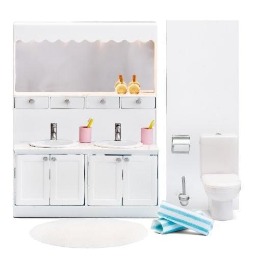 Lundby Smaland Dollhouse Bathroom セット海外取寄せ品