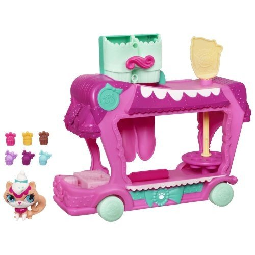 リトレストペットショップ Littlest Pet Shop スウィート Delights トリート Truck セット海外取寄せ品