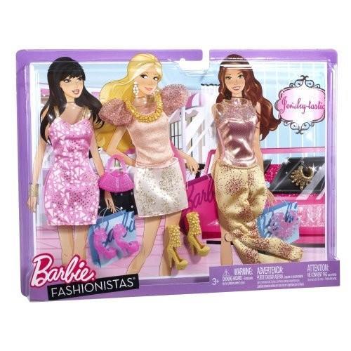 Mattel-バービー Barbie Fashionistas My Fab Life ファッション Shopping海外取寄せ品