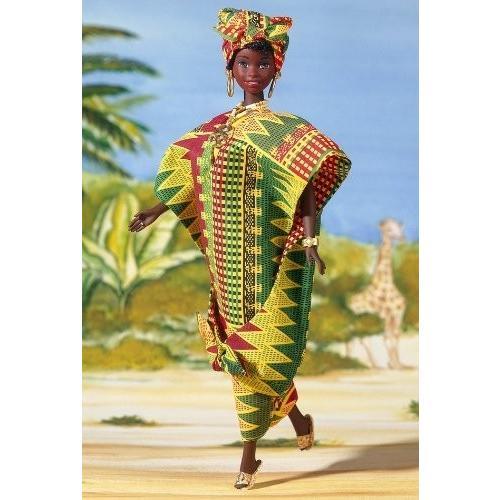 Ghanian バービー Barbie コレクターズ Edition ドール of the World海外取寄せ品