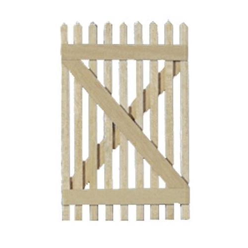 Dollhouse ミニチュア Picket Fence Gate by Houseworks, Ltd.海外取寄せ品