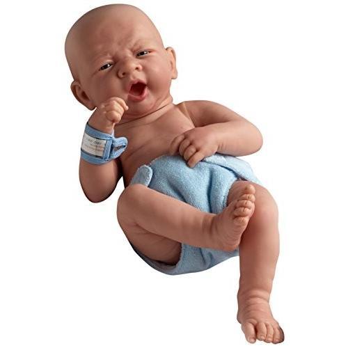 JC Toys 18504 La ニューボーン ファースト Yawn 15-インチ Real ボーイ ビニール ドール海外取寄せ品