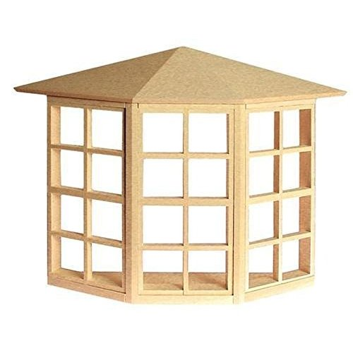 Dollhouse non-working 24 ライト Bay ウィンドウ海外取寄せ品