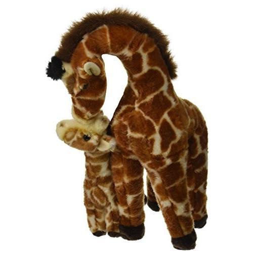オーロラ World Miyoni Giraffe with Calf Plush, 16
