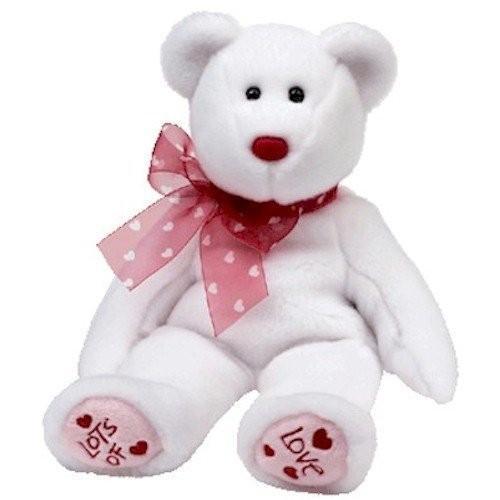 Ty Beanie Buddies Heartford - Valentine's クマ by Beanie Buddies海外取寄せ品