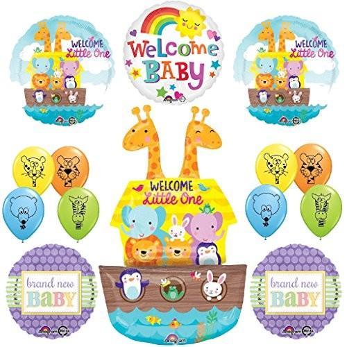 The アルティメイト Noahs Ark ジャングル アニマル ラテックス Welcome ベビー Baby Shower パーティー海外取寄せ品