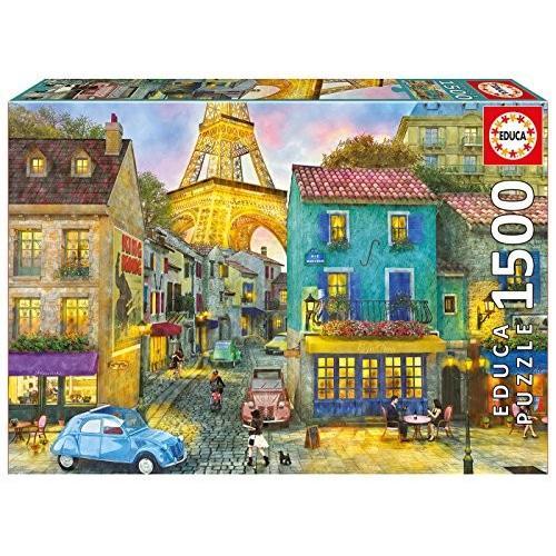 Educa Children's 1500 パリ ストリート パズル (Piece)海外取寄せ品
