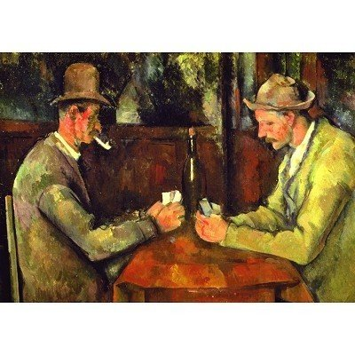The Card Players, Cezanne ジグソーパズル パズル 1500pc海外取寄せ品