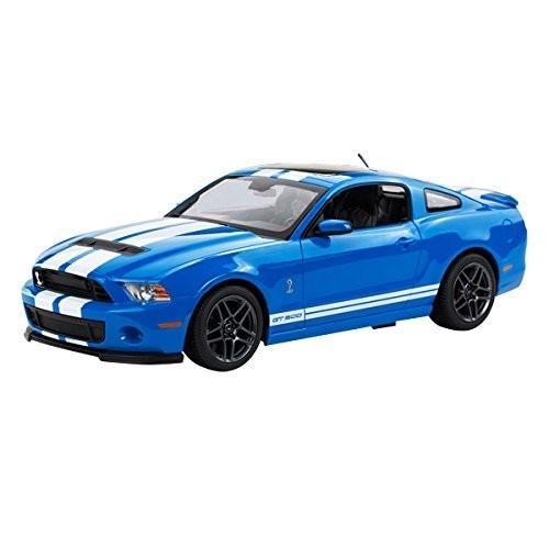 ライセンス Rastar R/C Remote Control 1:14 Ford Shelby GT500 49400 ブルー Car海外取寄せ品