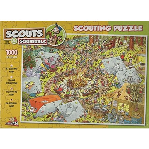 Puzzleman 1000 ピース パズル - Scouts & Squirrels海外取寄せ品