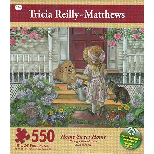 ホーム スウィート ホーム By Tricia Reilly-Matthews 550 ピース パズル海外取寄せ品