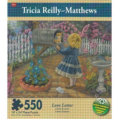 ラブ Letter By Tricia Reilly 550 ピース パズル海外取寄せ品