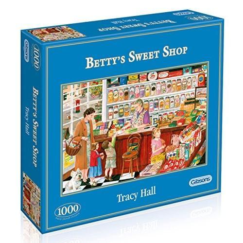 ギブソン Betty's スウィート Shop ジグソーパズル パズル (1000-Piece)海外取寄せ品