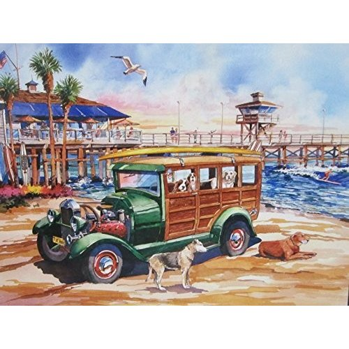 カリフォルニア Dreams-Dog デイズ Of サマー 1000 ピース パズル by Lafayette パズル ファクトリー海外取寄せ品