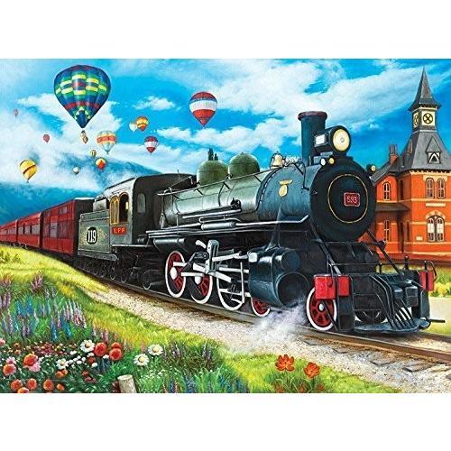パズル コレクター Art 1000 ピース パズル - Steam トレイン by Lafayette パズル ファクトリー海外取寄せ品