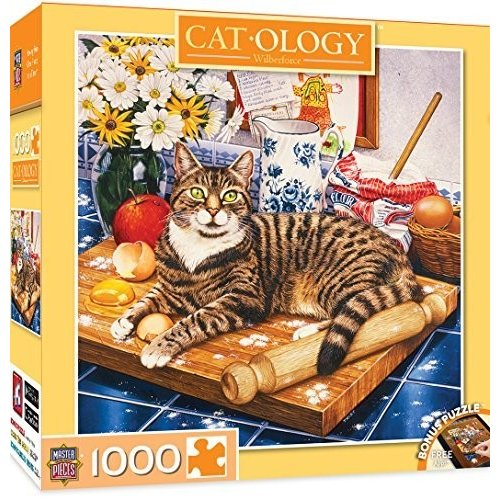 MasterPieces Cat-Ology: Wilberforce 1000 ピース パズル by MasterPieces海外取寄せ品