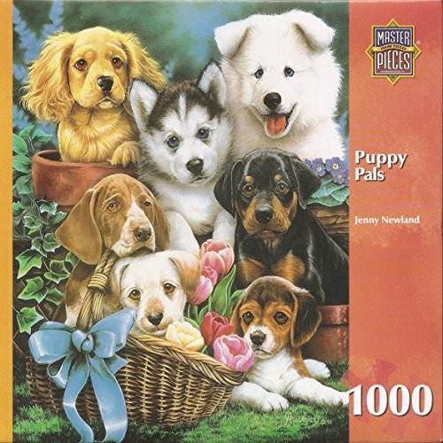 ププィ Pals 1000 ピース ジグソーパズル パズル by Jenny Newland海外取寄せ品