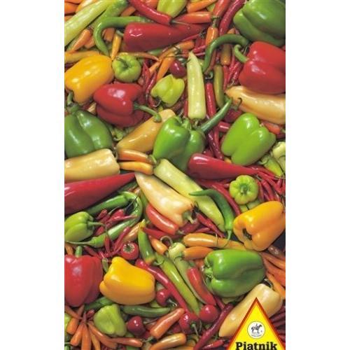 ペッパー & Chillies - 1000 ピース ジグソーパズル パズル by Piatnik海外取寄せ品