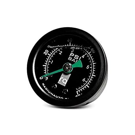 Radium Engineering 0-100 Psi Fuel Pressure Gauge By Jm Auto Racing 20-0029