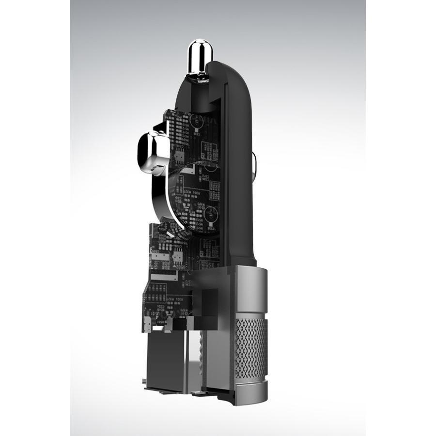 シガーソケット USB 2ポート 車載用 充電器 車 急速 iPhone Android スマホ 12V 24V カーチャージャー 4.8A タブレット Wicked Chili ta-creative 14