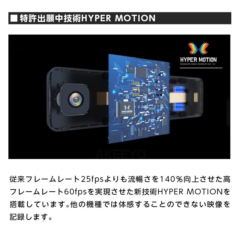 ドライブレコーダー ドラレコ ミラー型 前後カメラ 2カメラ 防水リアカメラ 車外リアカメラ AKEEYO AKY-X6 ta-creative 06