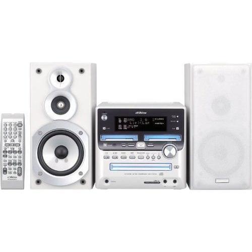 JVCケンウッド ビクター 超目玉 マイクロコンポーネントMDシステム ホワイト 完全送料無料 UX-W500-W