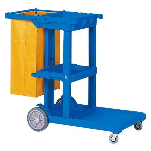 テラモト ビルメンカートL ビルメンカートL DS-571-810-3 ブルー