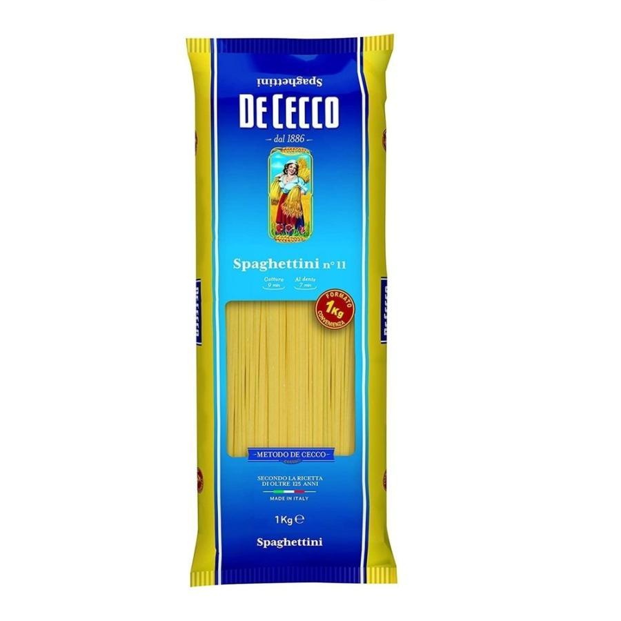 【限定特価300円off 4月30日12:00まで】ディチェコ No.11 スパゲッティーニ 1ケース(1kg×12袋)DE CECCO 送料無料|tabeluca|03