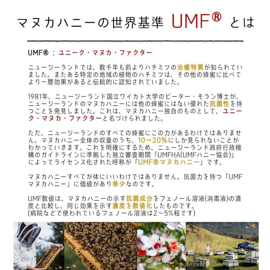 キウィ・マヌカハニー Kiwi Manuka Honey UMF+15 250g 2個セット 世界初の医療用マヌカハニー 送料無料 tabeluca 03