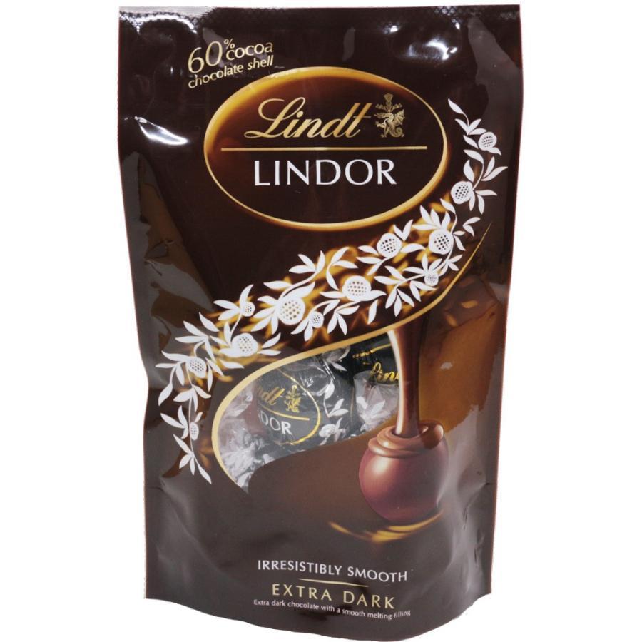 【宅配便送料無料】  リンツ(Lindt) リンドール エキストラビターパック 60g×3袋   【スイス 高級チョコレート ビターチョコ】|tabemon-dikara|05