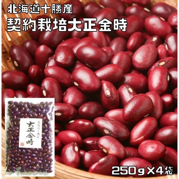 豆力 契約栽培十勝産 大正金時 1kg|tabemon-dikara
