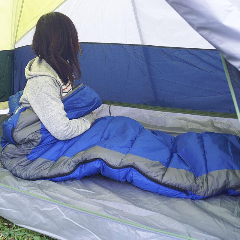 寝袋 アウトドア 車中泊 テント泊 ポリエステル ISUKA イスカ シュラフ パトロール600|tabi-bocchi|07