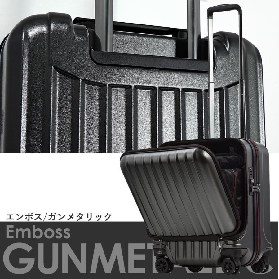 スーツケース キャリーケース 機内持ち込み Sサイズ フロントオープン 小型 軽量 ビジネスキャリー キャリーバッグ TSA フロントポケット 人気 おすすめ 出張 tabi 19