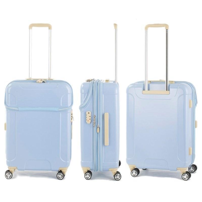 スーツケース アクタス ACTUS 57L 拡張時 68L キャリーケース 3-4泊用 4輪 TSAロック カラーズ ソフィー 74-20420 tabigoods 04