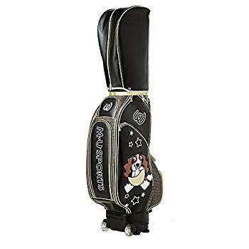 MU SPORTS(MUスポーツ) レディース キャディバッグ 703W2100 8.5型ローリングソール 5.0? ブラック