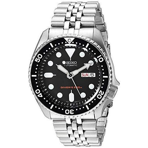 セイコーimportSEIKO 腕時計 逆輸入 海外モデル ブラック SKX007KD メンズ