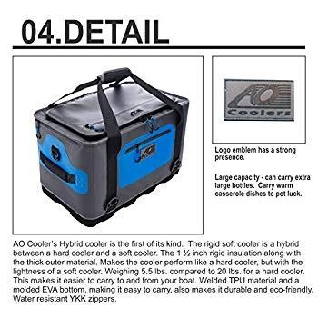 AO Coolers(エーオークーラー) ハイブリットクーラー 24パック 大容量 軽量 AOHY24 (日本正規品)