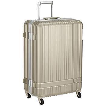 ハンズプラス スーツケース h+ライトシリーズ フレームSL 78L 4.8kg シルバー