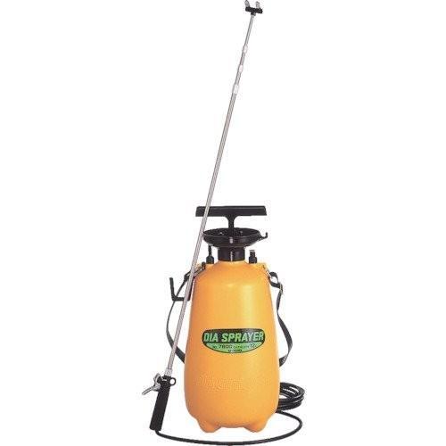 フルプラ ダイヤスプレー No.7800 プレッシャー式噴霧器 12L 2頭式 4段伸縮ノズル付(最長3m)